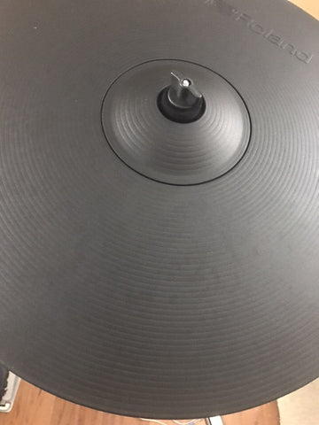 "Roland CY-18DR 18"" Digital Electronic Ride Cymbal - edrumcenter.com"