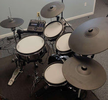 Load image into Gallery viewer, Custom Roland V-Drums TD-27KV Electronic Drum Kit w/ KD-180 kick drum