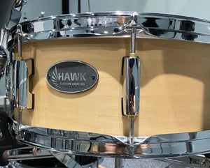 "Hawk Custom 14"" Electronic Snare w/ Maple Shell"