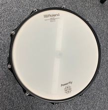"Load image into Gallery viewer, Hawk Custom 14"" Electronic Snare Drum - White Sparkle"