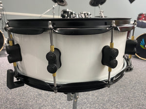 "Hawk Custom 14"" Electronic Snare Drum - White Sparkle"