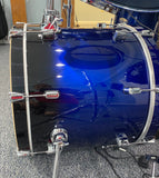 Hawk Custom Shell Pack No Snare HDMP9054 - Cobalt Blue Fade