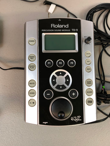 Roland TD-9 V2 - Used Fair Condition #8491
