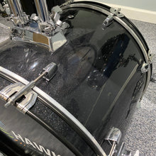 Load image into Gallery viewer, Hawk Custom Edrums 5pc Shellpack in Black Glitter