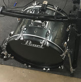 "Edrumcenter Custom 18"" Acoustic/Electric Kick Drum - Metallic Sparkle - edrumcenter.com"