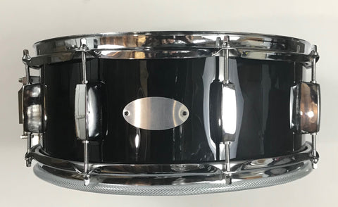 "EDC Custom 14"" Electronic Snare Drum - Black #1 - edrumcenter.com"