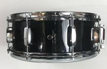 "Load image into Gallery viewer, EDC Custom 14"" Electronic Snare Drum - Black #1 - edrumcenter.com"