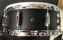 "Load image into Gallery viewer, Edrumcenter EDCC1455-1 Custom 14"" Electronic Snare w/ Maple Shell and Satin Black Finish # 1 - edrumcenter.com"