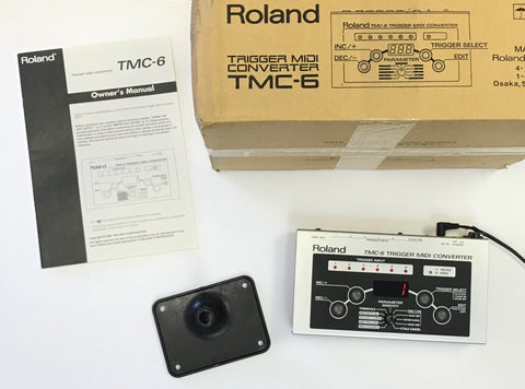 Roland TMC-6 Used - Fair Condition #4031