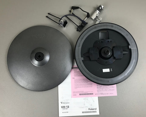 Roland VH-13-MG Hi Hats - Used - Good Condition #8747 - edrumcenter.com