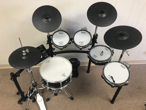 "Roland TD-25KV Customized - 14"" Snare, Extra tom - edrumcenter.com"