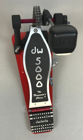 Drum Workshop 5000 Series Single Kick Pedal - Used - edrumcenter.com