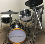 Hawk Custom Edrums Mimic/ATV Package - Black Sparkle - edrumcenter.com