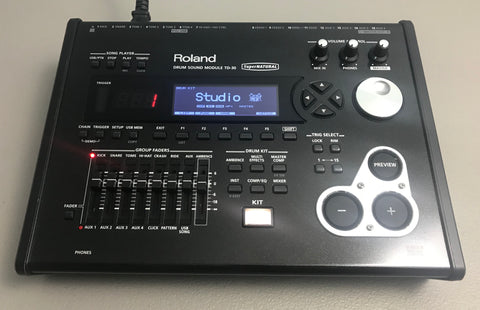 Roland TD-30 Drum Module Used - Good Condition # 5475