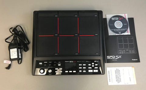 Roland SPD-SX Used - Mint Condition #9300 - edrumcenter.com