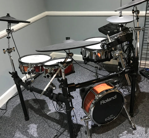 Custom Used Roland TD-50 Kit Custom Kit