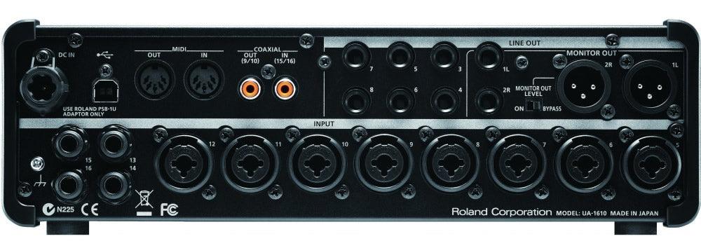 Roland UA1610 Studio Capture - edrumcenter.com