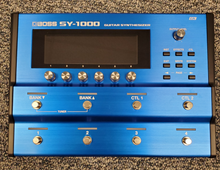 Load image into Gallery viewer, Boss SY-1000 Guitar Synthesizer Used - MINT Condition