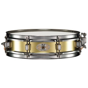 Pearl B1330 Brass Piccolo Snare Drum - edrumcenter.com