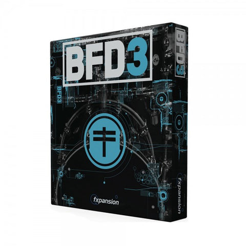 Fxpansion BFD 3.0 Drum Software - edrumcenter.com