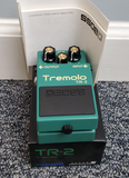 Boss TR-2 Tremolo Pedal Used - MINT Condition