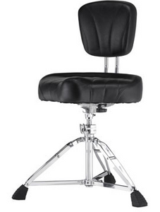 Pearl D2500BR Drum Throne with Backrest - edrumcenter.com