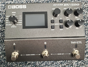 Boss RV-500 Reverb Pedal Used - MINT Condition