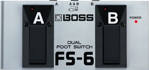 Boss FS-6 Dual Footswitch - edrumcenter.com