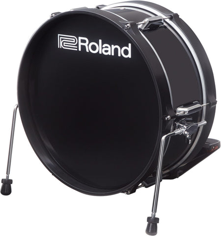 "Roland V-Drums Acoustic Design 3 Series 18"" Kick - KD-180L-BK - edrumcenter.com"