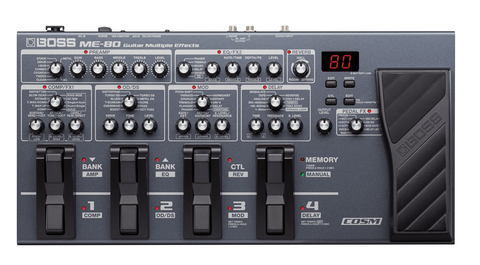 Boss ME-80 Guitar Effects Processor - edrumcenter.com