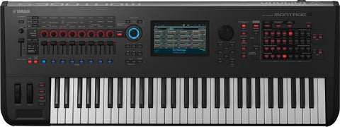 Yamaha Montage 6 Synthesizer - edrumcenter.com
