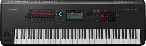 Yamaha Montage 8 Music Workstation - edrumcenter.com