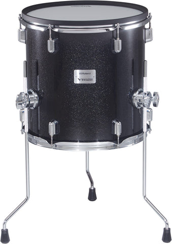 "Roland V-Drums Acoustic Design 5 Series 14"" Floor Tom - PDA140F-MS - edrumcenter.com"