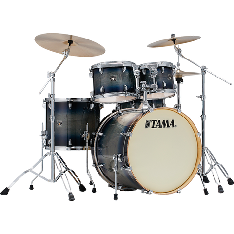 Tama Superstar Classic CL52KS 5 Piece Shell Pack - Dark Indigo Burst - edrumcenter.com