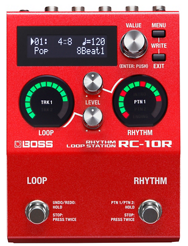 Boss RC-10R Rhythm Loop Station - edrumcenter.com