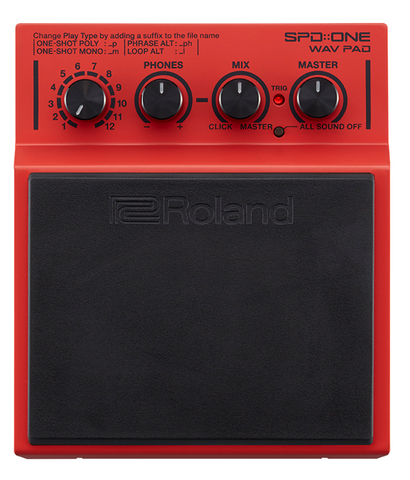 Roland SPD-ONE Wav Pad - edrumcenter.com