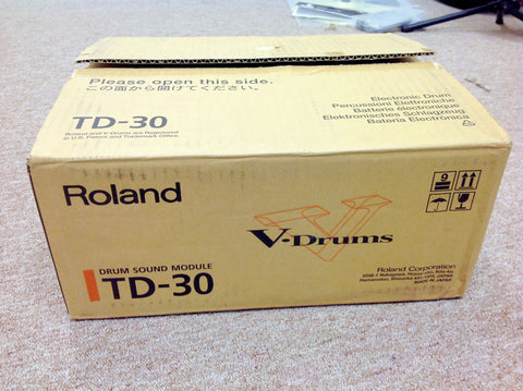 Roland TD-30 Module Used - With Box and Manual - edrumcenter.com