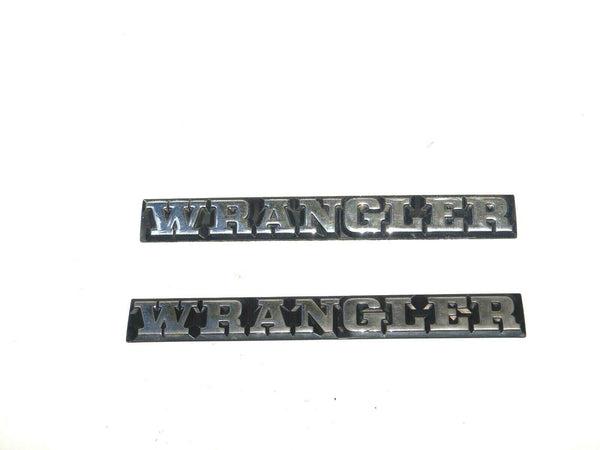 87-95 YJ Wrangler Body Tub Emblem Badge Logo Nameplate