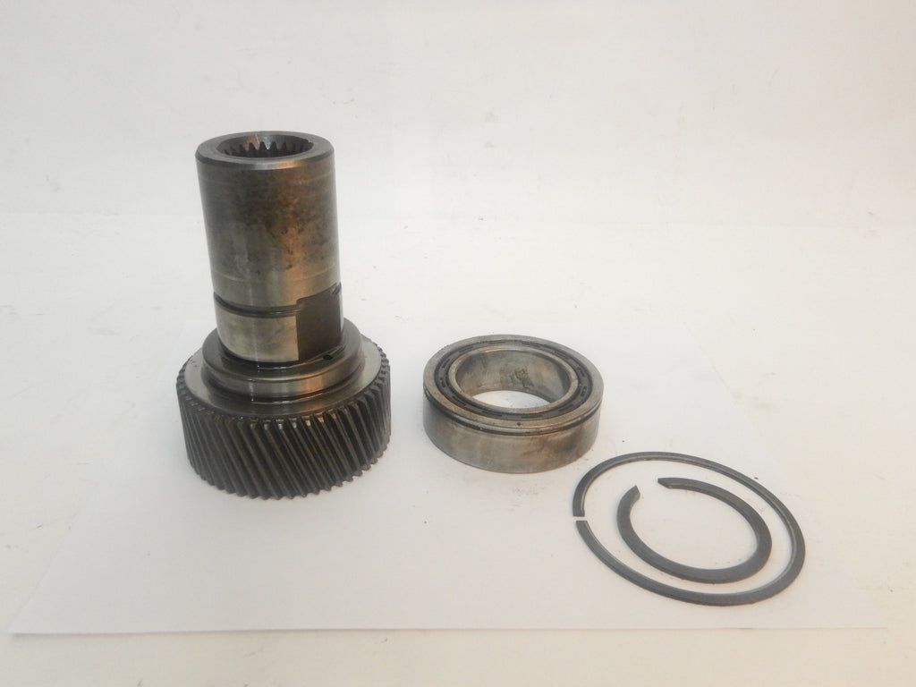 87-95 Wrangler YJ Jeep 231 Transfer Case 23 Spline Long Input Shaft Bearing + Retainer Rings