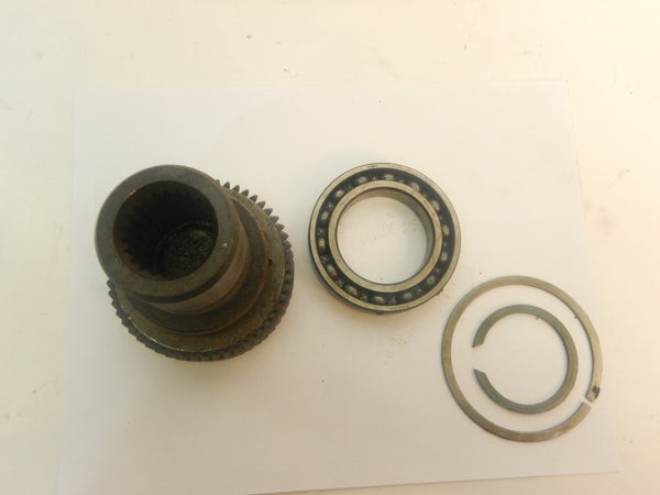 97-06 Wrangler TJ Jeep 231 Transfer Case 23 Spline Short Input Shaft + Bearing & Retainer Rings