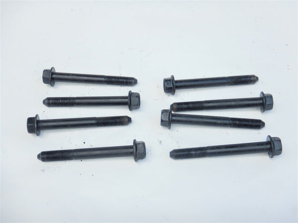 87-95 Wrangler YJ Jeep Leaf Spring Shackle Pivot Plate Bolt Bolts Hardware (8)