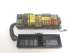 00 2000 Cherokee XJ Jeep Fuse Box Relay Under Hood Electronic Panel Block