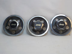 87-95 Wrangler YJ Wheel Center Cap Set Three (3)