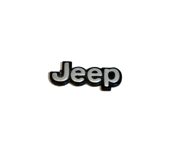 87-95 YJ Wrangler Glove Box Door Emblem Badge Logo Nameplate