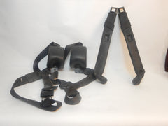 92-95 Wrangler YJ Complete Front Seat Belt Set Shoulder Harness & Female End Driver Passenger