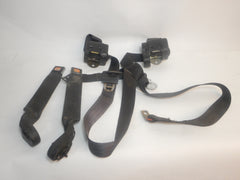 87-91 Wrangler YJ Jeep Complete Front Seat Belt Set Shoulder Harness + Female End