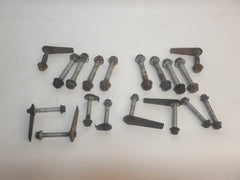93-98 Grand Cherokee ZJ Complete Front + Rear Control Arm Screw Bolt Nut Hardware Track Sway Bar