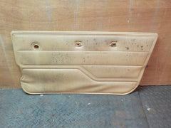 76-86 87-91 CJ Wrangler Passenger Tan Sand Door Panel