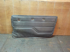 76-86 87-95 CJ Wrangler Passenger Right Black Interior Door Panel