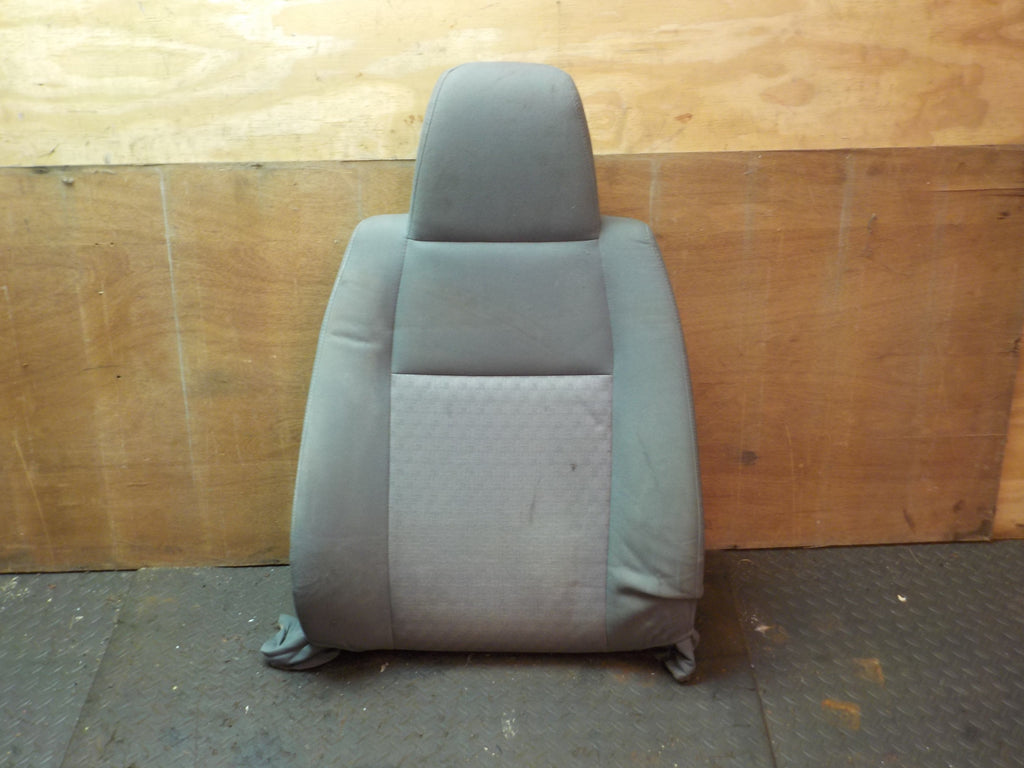 02-07 Liberty KJ Passenger Seat Back Upper  Grey